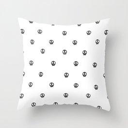 Little Skullz Throw Pillow