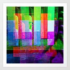 Inverse piñata process/ing, 1. Art Print