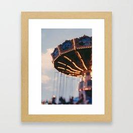Art Deco Flying Chairs Framed Art Print
