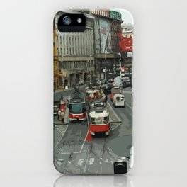 Retro PRAHA iPhone Case