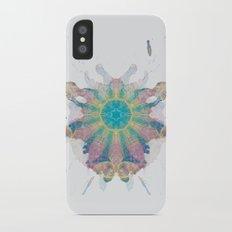 Inkdala XI - Rainbow Rorschach Art iPhone X Slim Case