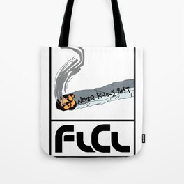 FLCL Never Knows Best Cigarette Tote Bag