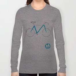 \\M// Frame Long Sleeve T-shirt