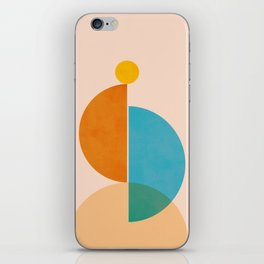 Abstraction_SUN_Rising_Minimalism_001 iPhone Skin