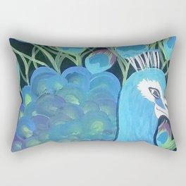 My Peacocck Rectangular Pillow