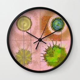 Tricksical Peeled Flowers  ID:16165-011113-25451 Wall Clock