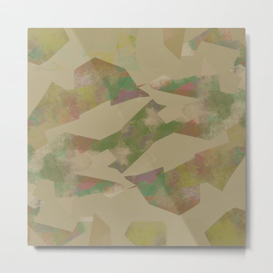Camouflage XXX Metal Print
