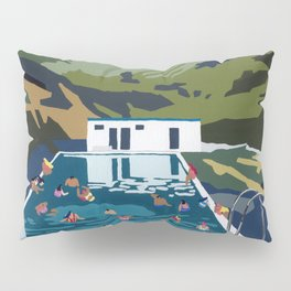 Seljavallalaug Pillow Sham