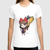 chibi T-shirts featuring Chibi Kiki by Warbunny