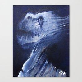 Fibrous Canvas Print