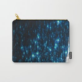 New York City Teal Starry Night Carry-All Pouch