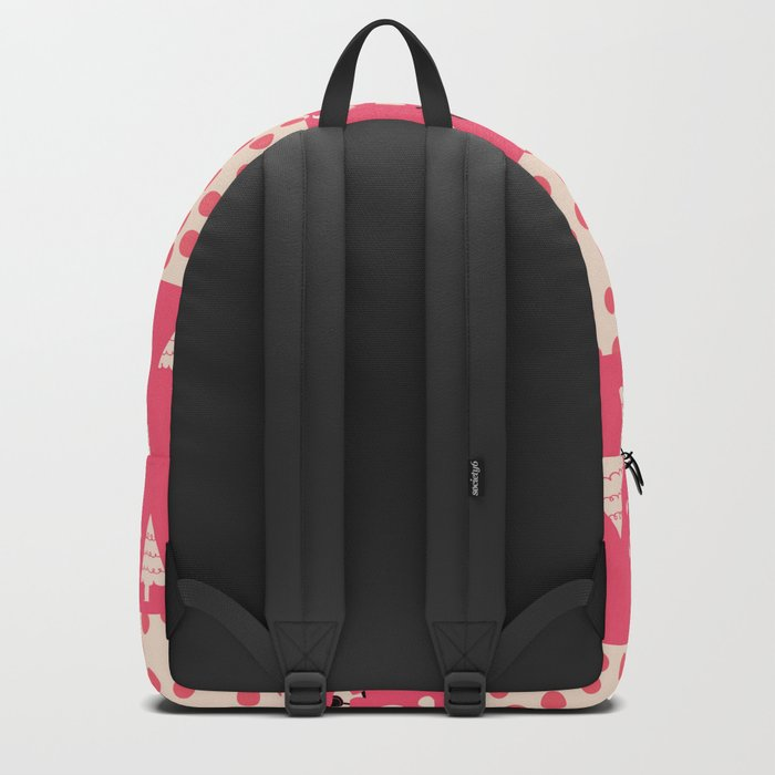 Unicorn Pink patchwork Backpack