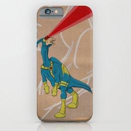Paracyclophus - Superhero Dinosaurs Series iPhone Case