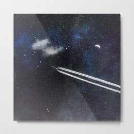 Star Traveller Metal Print