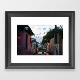 Chiapas Framed Art Print