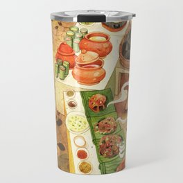 Thai street food, Chiangmai Thailand Travel Mug