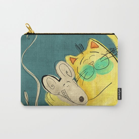 Lets be Friends Carry-All Pouch