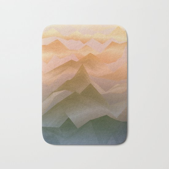 Top of the World (Sunrise) Bath Mat