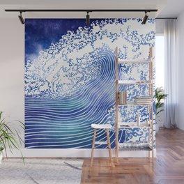 Pacific Waves II Wall Mural