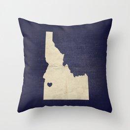 Boise, Idaho Throw Pillow