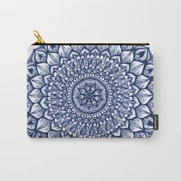 Sand Dollar-Navy Carry-All Pouch