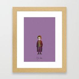 Heath Ledger - Joker Framed Art Print