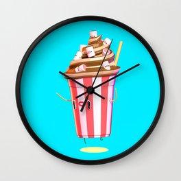 Milkshake II Wall Clock