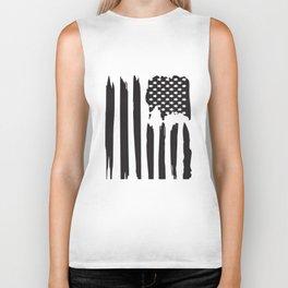 American Flag Patriotic Usa Flag Vintage Men's Veteran T-Shirts Biker Tank