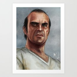 Trevor Phillips  Art Print