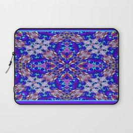 Strange Flower 2 - Blue Laptop Sleeve