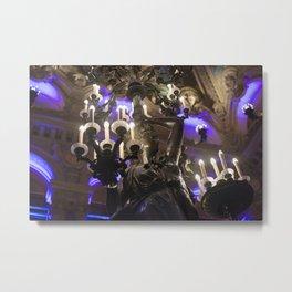 Albert-Ernest Carrier-Belleuse: flares at the Opéra Garnier Metal Print