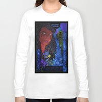 aquarius Long Sleeve T-shirts featuring Aquarius by Laura Jean