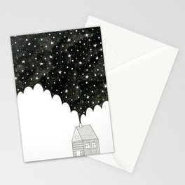 House in the Night Stationery Cards