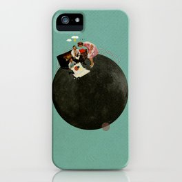 Life on Earth | Collage iPhone Case