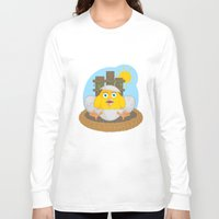 chicken Long Sleeve T-shirts featuring chicken by Fargon