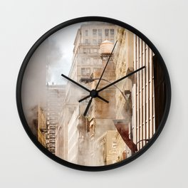 New York Mood Wall Clock