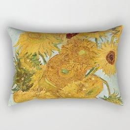 Van Gogh - sunflowers Rectangular Pillow