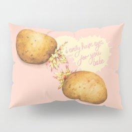 Food Pun - Potato Romance Pillow Sham