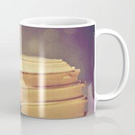 Vintage Book Love Coffee Mug