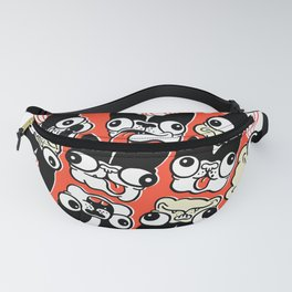 Crazy Boston Terriers Fanny Pack