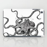 yoga iPad Cases featuring Octopus by TAOJB