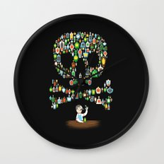 What's your poison? Wall Clock