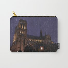 Cathedral Notre-Dame Carry-All Pouch