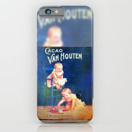Cacao. Vintage French Poster iPhone Case