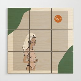 Tanned in Italy Wood Wall Art
