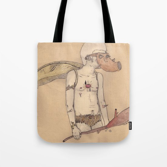 MT man Tote Bag