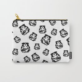 Extraordinary Gifts for the Shetland Sheepdog owner from MONOFACES Carry-All Pouch