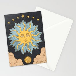 Sol With Seven Stars Stationery Cards