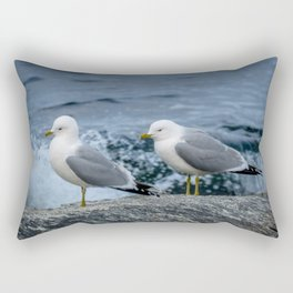 Seagulls, Norway Rectangular Pillow