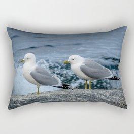 Seagulls, Norway Rectangular Pillow